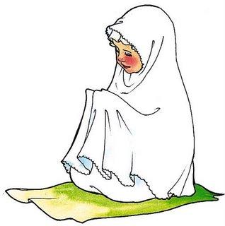 anak kecil berdoa