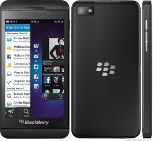 Penampilan Blackberry Z10