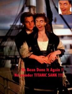 bean titanic