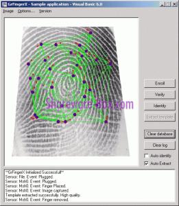 contoh biometric