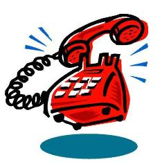 kartun telepon